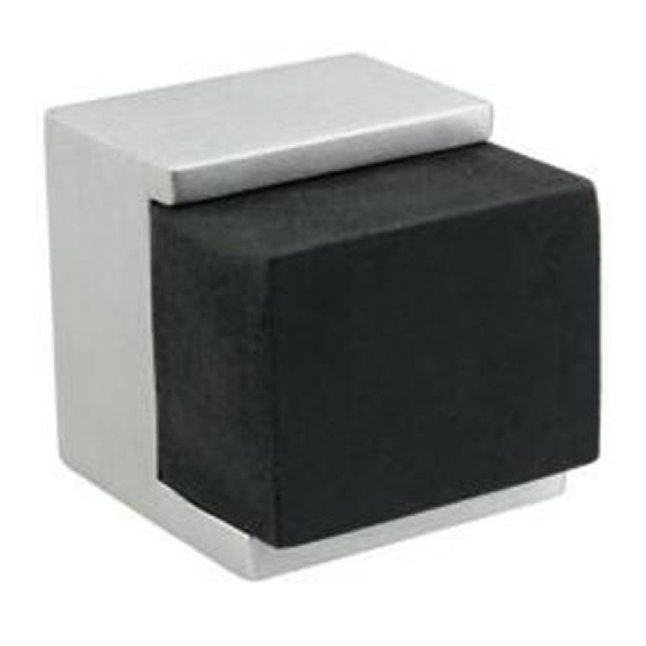 Zanda Square Floor Mount Doorstop, 30 x 38mm